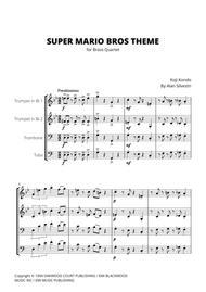 Super Mario Bros Theme - Brass Quartet