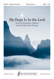 My Hope Is In the Lord