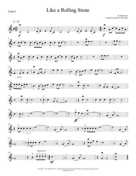 Like A Rolling Stone - String Quartet