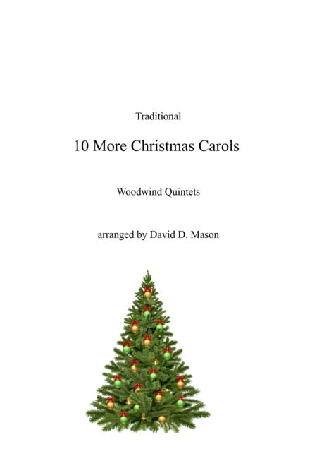 10 More Christmas Carols for Woodwind Quintet