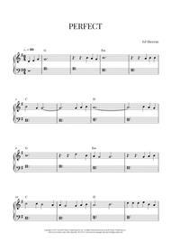 Ed Sheeran - Perfect (Easy Piano)