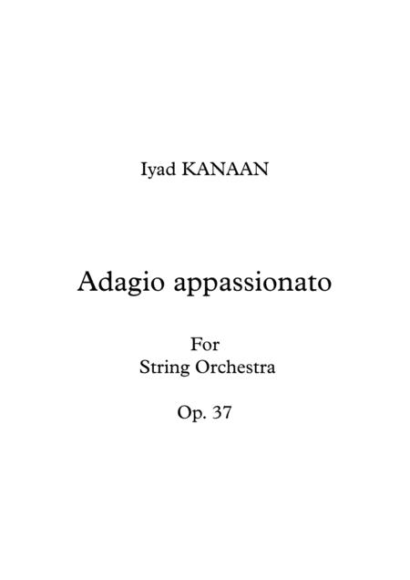 Adagio Appassionato for string orchestra