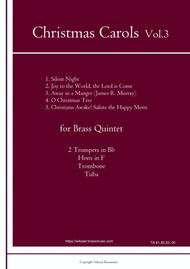 Christmas Carols for Brass Quintet Vol.3 (5 Christmas Carols)