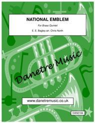 National Emblem (Brass Quintet)