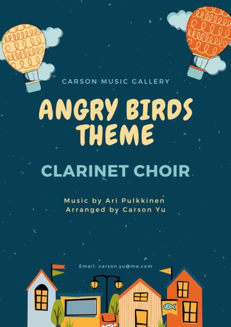 Angry Birds Theme - for Clarinet Choir