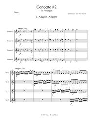 Concerto #2 for Four Trumpets (1st movement)