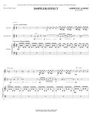DOPPLER EFFECT for flute, alto flute, and piano