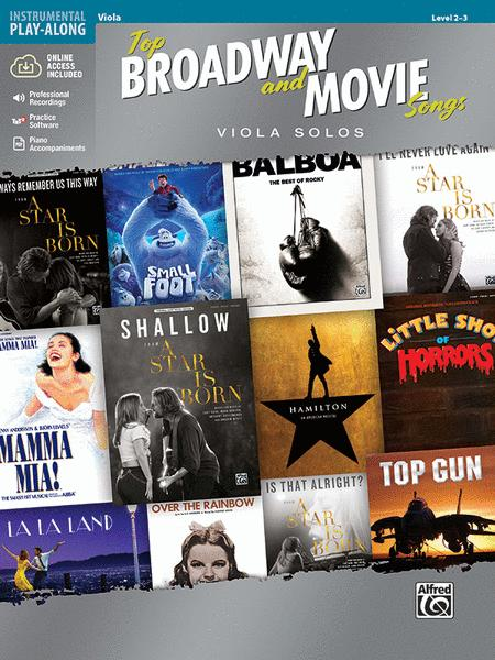 Top Broadway & Movie Songs Instrumental Solos