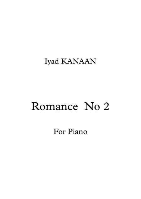 Romance No 2 For Piano