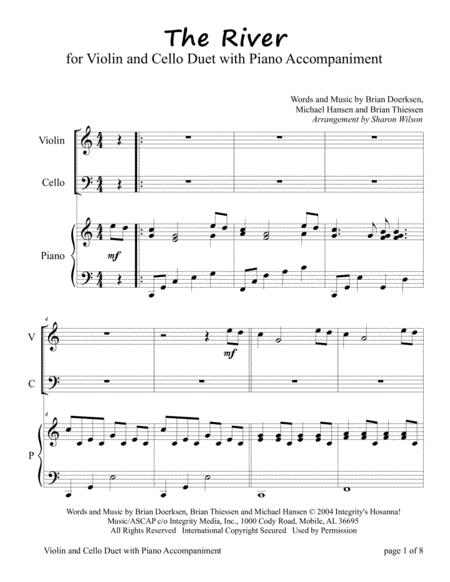 The River (for Violin and Cello Duet with Piano accompaniment)