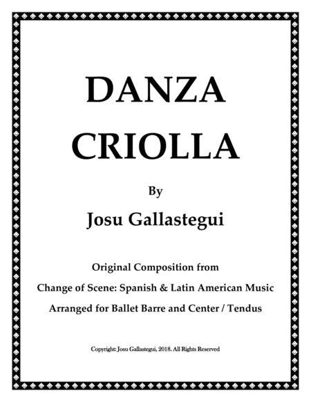 Danza Criolla