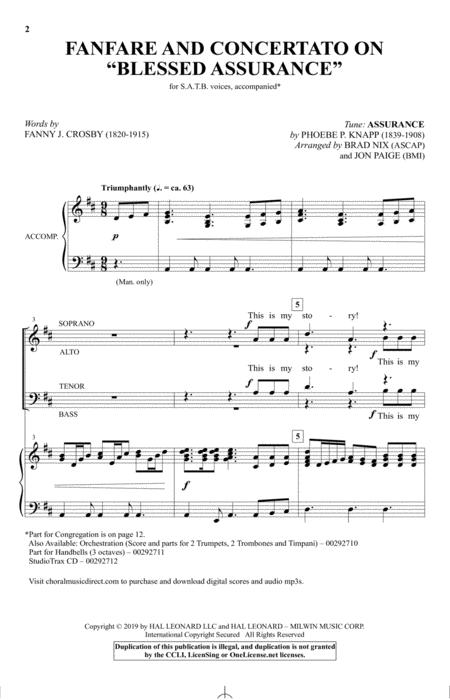 Fanfare And Concertato On