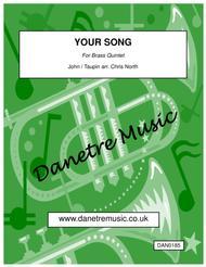 Your Song (Brass Quintet)