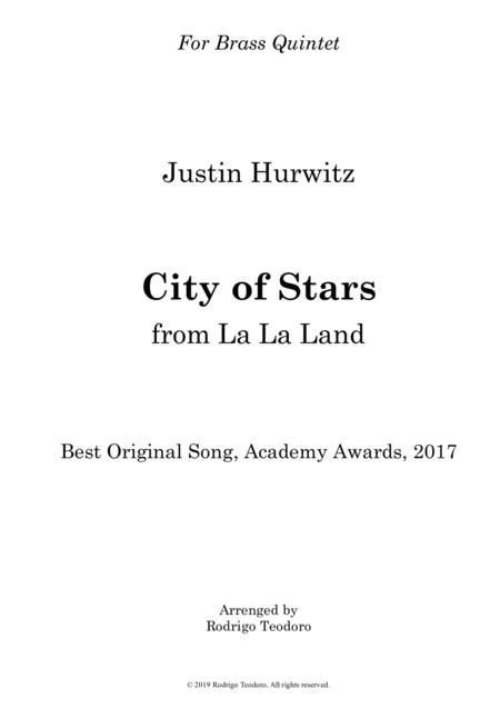 City Of Stars (From La La Land) - Brass Quintet
