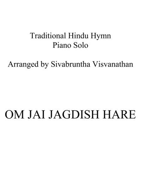 Download Om Jai Jagdish Hare Sheet Music By Shardha Ram