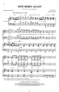 Download New Born Again Arr Ralph Long Sheet Music By