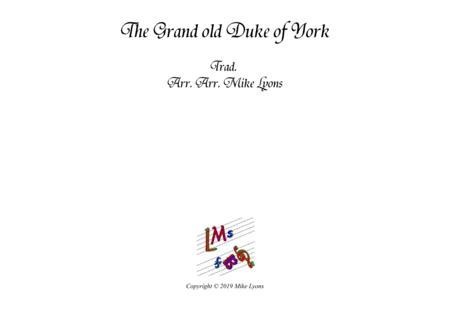 The Grand Old Duke of York - Brass Ensemble