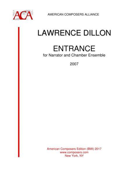 [Dillon] Entrance