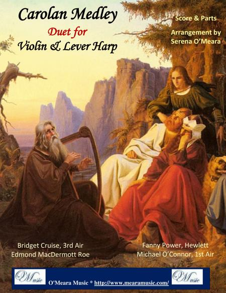 Carolan Medley for Violin and Lever Harp