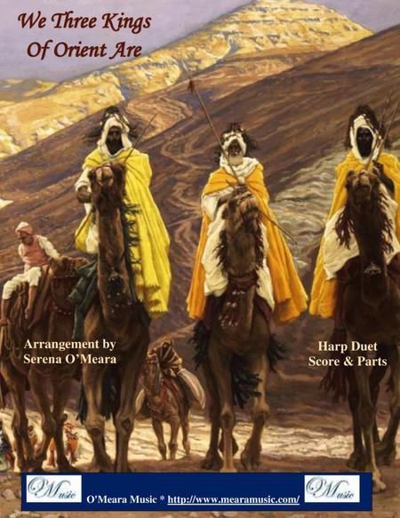We Three Kings of Orient Are, Score and Parts