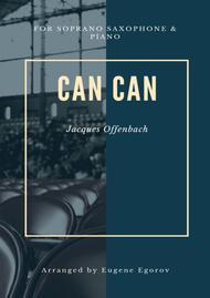 Can Can, Jacques Offenbach, For Soprano Saxophone & Piano