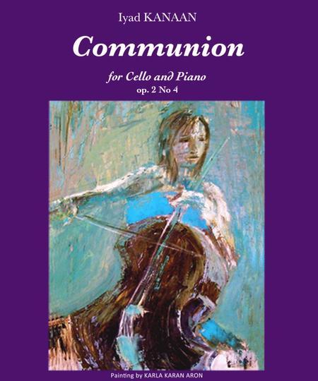 Communion for cello and Piano op. 2 No 4
