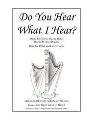 Do You Hear What I Hear for Lever Harps