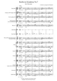 Beethoven Symphony No.7 (movement 2) for Flexible School Ensemble/Orchestra