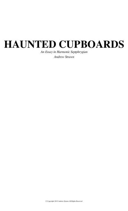 Haunted Cupboards