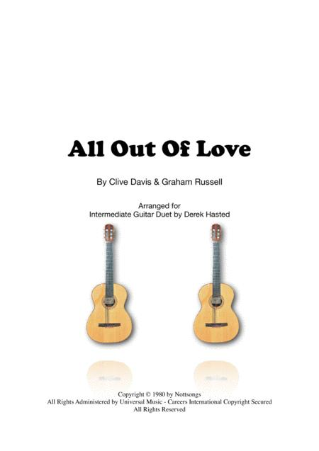 All Out Of Love - Guitar duet
