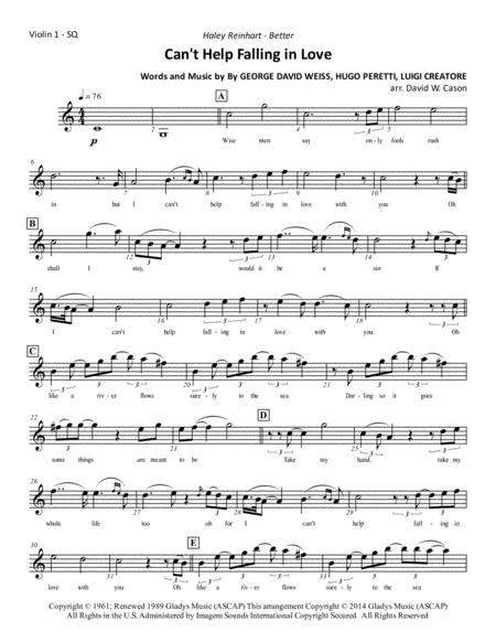Can't Help Falling In Love - String Quartet