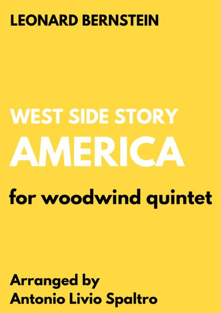 America for Woodwind Quintet (from West Side Story)