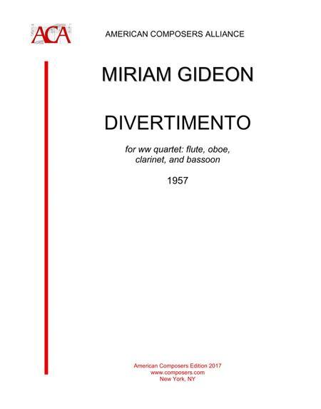 [Gideon] Divertimento