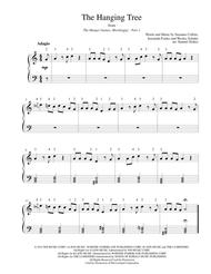 The Hanging Tree (from The Hunger Games: Mockingjay Part 1) - for easy piano