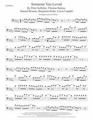 Someone You Loved, Trombone (Original key)