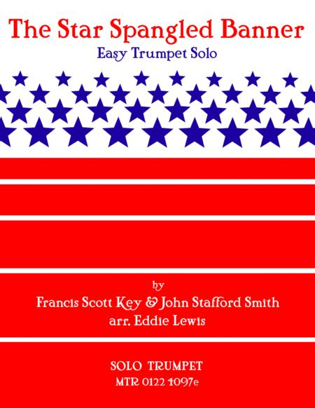 Easy Star Spangled Banner for Solo Trumpet