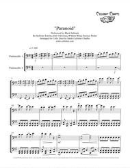 Paranoid - Cello Duet - Black Sabbath arr. Cellobat - Recording Available!