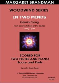 In Two Minds _ Two flutes and piano arrangement
