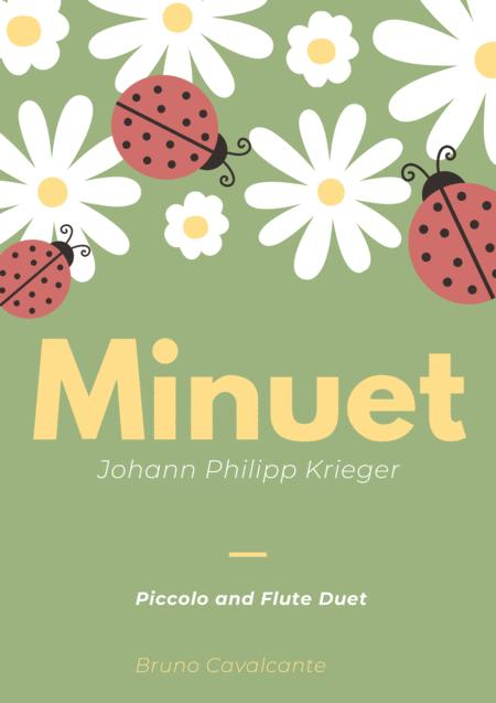 Minuet in A minor - Johann Philipp Krieger - Piccolo and Flute Duet