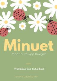Minuet in A minor - Johann Philipp Krieger - Trombone and Tuba Duet