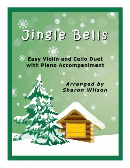 Jingle Bells (Easy Violin and Cello Duet with Piano Accompaniment)