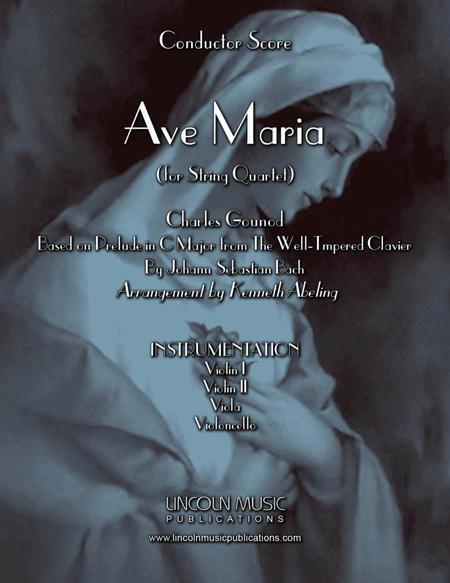 Ave Maria - Gounod & Bach (for String Quartet)