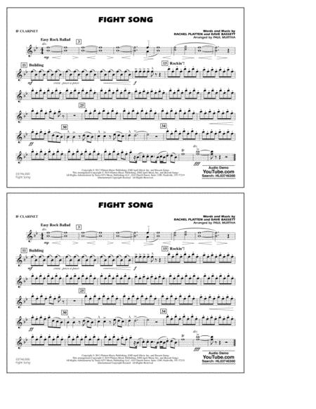 Fight Song (arr. Paul Murtha) - Bb Clarinet