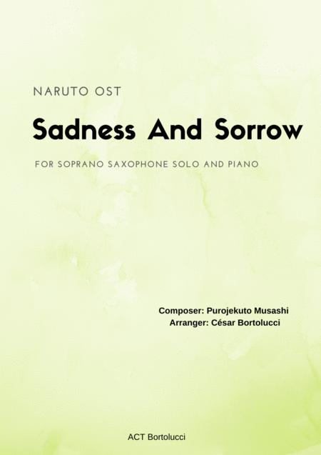 Sadness And Sorrow (Naruto) - For Soprano Sax Solo and Piano