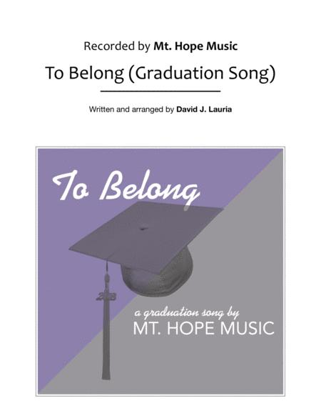 To Belong (Graduation Song)