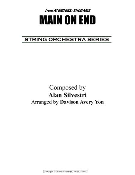 Download Main On End (From AVENGERS: ENDGAME) Sheet Music By