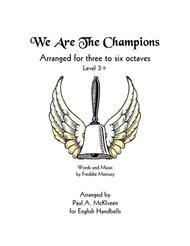 We Are The Champions (for handbells)
