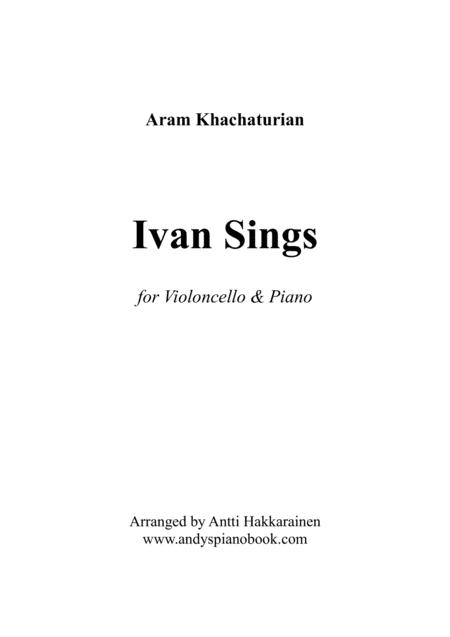 Ivan Sings - Cello & Piano