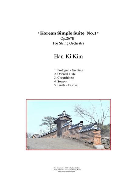 Korean Simple Suite No.1 (For String Orchestra)
