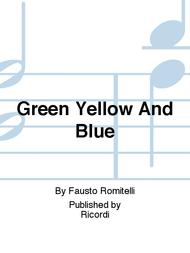 Green Yellow And Blue